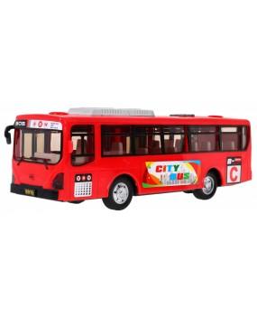 Školský autobus červený